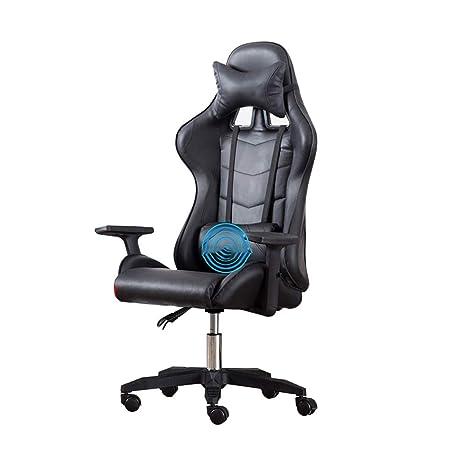 Amazon.com: Bseack Silla giratoria de videojuego, silla de ...