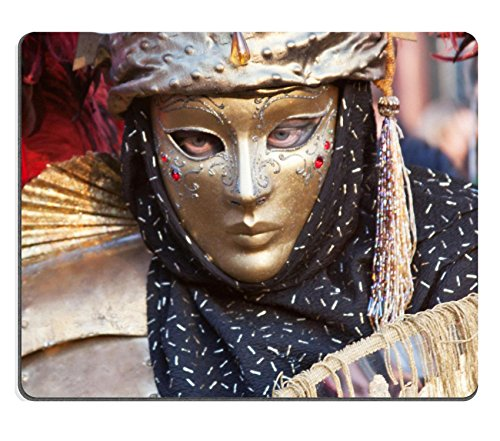 MSD Mousepad IMAGE 23684153 Carnival mask in Venice (Fasching Costume)