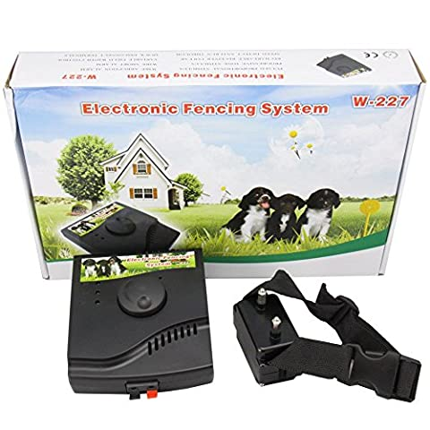 Waterproof In-Ground Rechargeable Underground Electronic Pet Fencing System Invisible Dog Fence with Tone & Shock Pulse Stimulus - Innotek Electronic Dog Fence