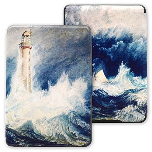 Lighthouse Clasp - kandouren - case cover for kindle paperwhite (for kindle paperwhite, Lighthouse)