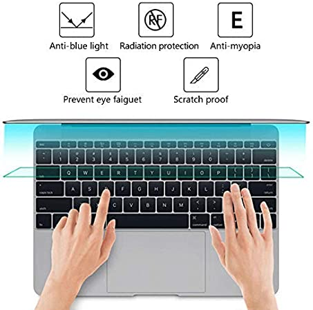 2-Pack 11.6 inch Laptop Matte Screen Protector Blue Light and Anti Glare Filter Eye Protection Blue Light Blocking for 11.6 with 16:9 Aspect Ratio Laptop Accessories HP//Asus//Lenovo//samsang etc