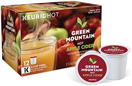 Coffee Pods: Green Mountain Hot Apple Cider K-Cup Pods