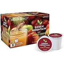 Green Mountain Naturals Hot Apple Cider, Keurig K-Cups, 72 Count