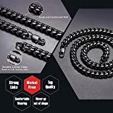 Stainless Steel Necklace 18 inch 10MM Curb Chain