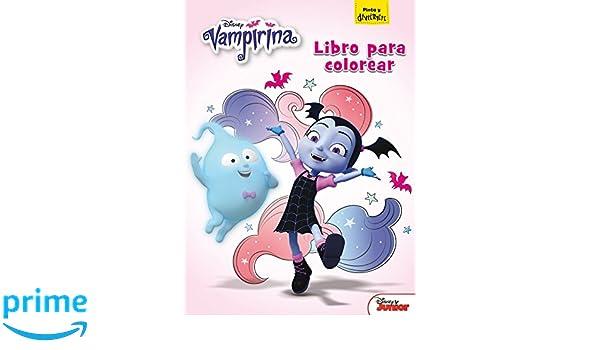 Vampirina. Libro para colorear /(Disney. Vampirina/) Tapa blanda ...
