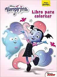 Vampirina. Libro para colorear (Disney. Vampirina) : Disney ...