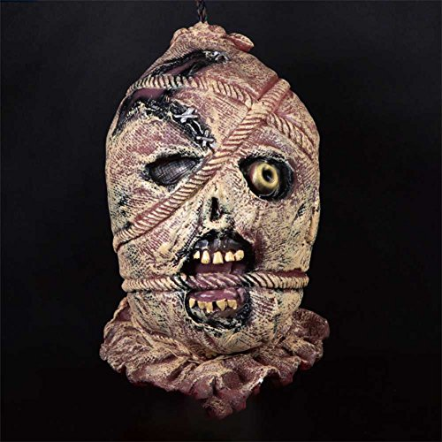 Smartcoco Halloween Tricky Toys Supplies/Bar Haunted House Props Horror Hanging Kito Scary Ornament - Renaissance Falconer Costume