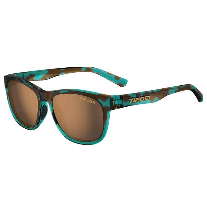 Tifosi Swank - Gafas de sol con lente polarizada, azul confeti: Amazon.es: Deportes y aire libre