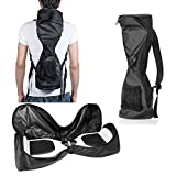 Waterproof Hover Board Bag Backpack for Smart Self Balancing Scooter Drifting Board,Mesh Pocket - Adjustable Shoulder Straps(Black)
