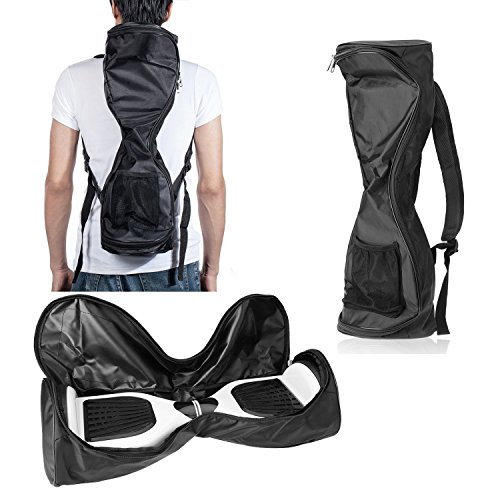 Michael Josh Waterproof Hover Board Bag Backpack for Smart Self Balancing Scooter Drifting Board,Mesh Pocket - Adjustable Shoulder ()
