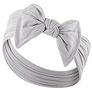 YOUR NEW FAVORITE BABY HEADBANDS - Super Stretchy Knot Baby Headband For Newborn Headbands and Baby Girls Headbands