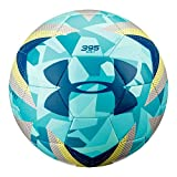 Under Armour Desafio 395 Soccer Ball, Teal Punch/Camo, Size 5