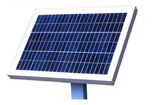 GudCraft 24-Volt 20 Watt Solar Panel