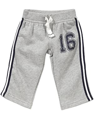Carter's Baby Boy's Infant Athletic Fleece Pant!