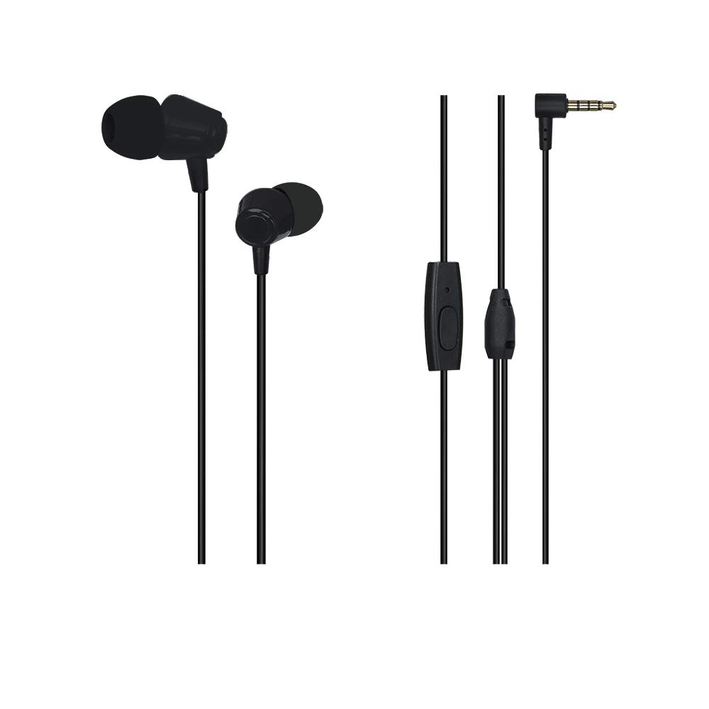 Wecool W001 Snug Fit Wired Earphone with Mic and MFB