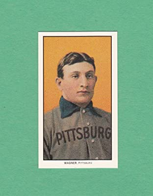 Honus Wagner 1909 T206 Piedmont Tobacco Reprint Card Pittsburgh Pirates