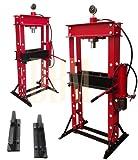 Heavy Duty 30 Ton Air Hydraulic Shop Press