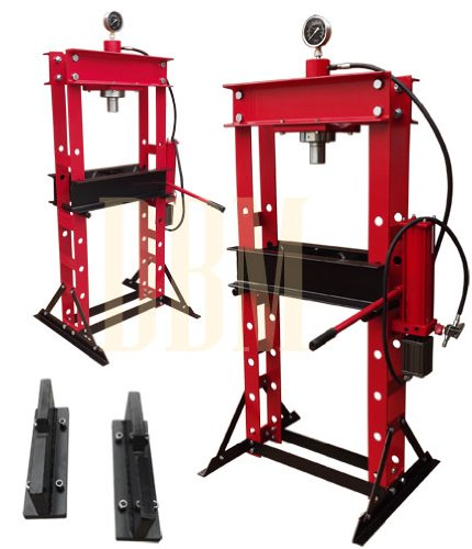 Heavy Duty 30 Ton Air Hydraulic Shop Press by Generic