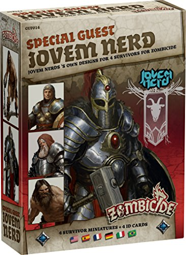 Zombicide: Black Plague Special Guest Jovem Nerd Limited Edition Board Game