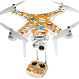 MightySkins Protective Vinyl Skin Decal for DJI Phantom 3 Professional Quadcopter Drone wrap cover sticker skins Pop Art
