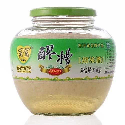 窝窝米酒 醪糟 甜酒酿 Wowo Fermented Glutinous Rice Drink 600g