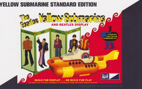 yellow submarine model kit - 1