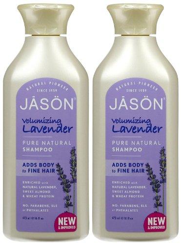 Jason Natural Lavender Shampoo - 16 oz - 2 pk (Shampoo Lavender Natural Jason)