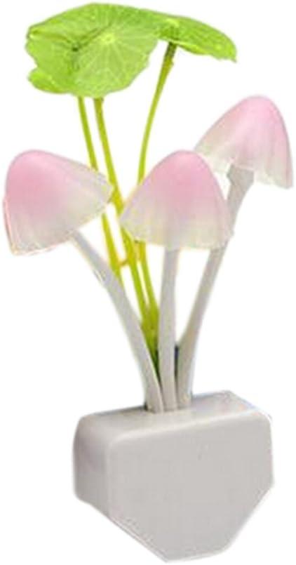 Lampe de mur de lumière de lumière de contrôle de sens de champignon