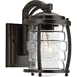 Progress Lighting P5614-108 Traditional/Casual 1-100W Med Wall Lantern, Oil Rubbed Bronze For Sale