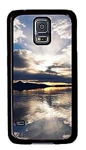 Samsung Galaxy S5 Clouds Reflection PC Custom Samsung Galaxy S5 Case Cover Black