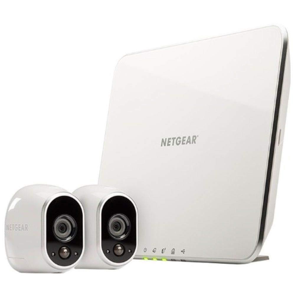 Kamera Netgear Arlo VMS3230-100EUS Smart Home 2 HD-Überwachung (100% kabellos, Indoor/Outdoor, Bewegungssensor, Nachtsicht)