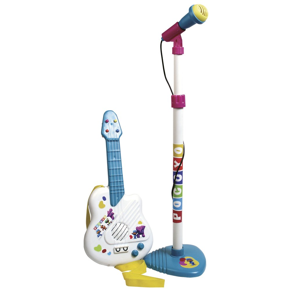 REIG Pocoyo Microphone and Guitar Set REIG311