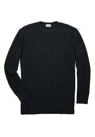 Amazon Kingsize Mens Big Tall Crewneck Cable Knit Sweater