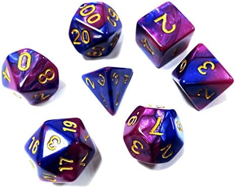Amazon.com: JPJ(TM) ❤Game Dice❤ 7pcs/Set New TRPG Game ...