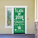 Victory Corps Collage Green - Outdoor GRADUATION Garage Door Banner Mural Sign Décor 36'' x 80'' One Size Fits All Front Door Car Garage -The Original Holiday Front Door Banner Decor