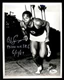 O.J. Simpson SIGNED AUTOGRAPH AUTO 8x10 INSCRIBED WORLD RECORD TRACK JSA CERT
