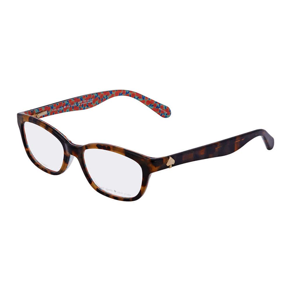 Eyeglasses Kate Spade Brylie 02 NL Havanaパターングリーン 50/16/135  B06W9MM8VZ