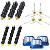 ANBOO Replacement Parts Kit Including Bristle & Flexible Beater Brush & Armed-3 Side Brush & Filters for iRobot Roomba…