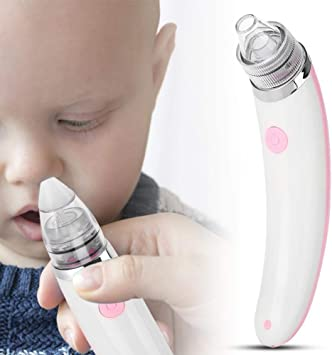 Aspirador nasal, aspirador nasal eléctrico con 5 niveles ...