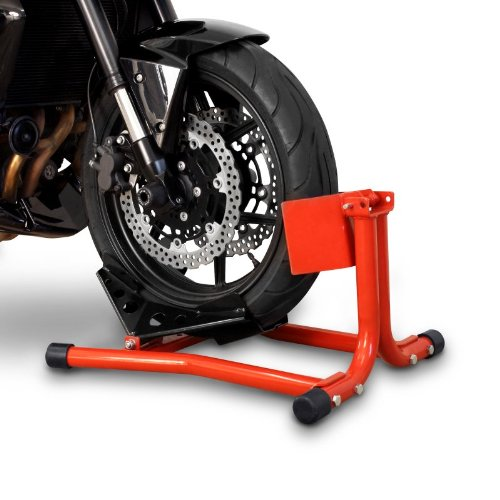 Ktm Track (Motorcycle Wheel Chock KTM RC 390 Constands Easy Red)