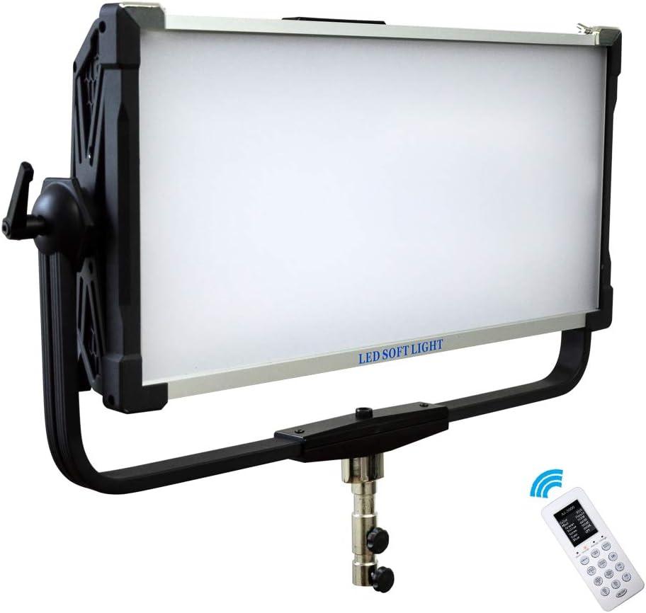 Yidoblo AI-3000C 300W RGBW LED Panel Lamp APP Control Soft LED Lamp 12 Photography Lighting Effects Set for Studio Video Film (Yidoblo AI-3000 C Black)