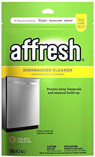 Affresh W10282479 Dishwasher Cleaner, 1 Pack, Yellow (Best Thing To Clean Stainless Steel Sink)