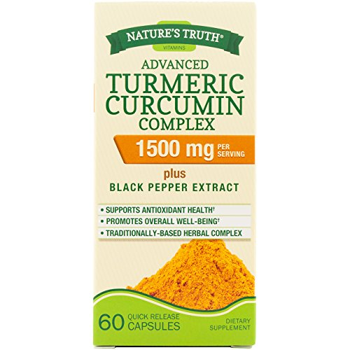 Nature's Truth Turmeric Curcumin Advanced Complex 60 Capsules Review