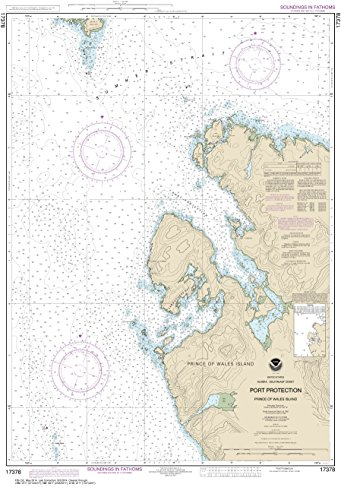 NOAA Chart 17378 Port Protection, Prince of Wales Island: for sale  Delivered anywhere in Canada