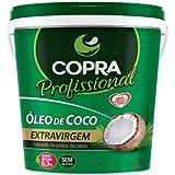 Balde Óleo De Coco Extra Virgem 3,2l Copra + Sal Rosa 200g