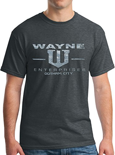 New York Fashion Police Wayne Enterprises T-Shirt Bat Man Dark Knight Tee Vintage DH L