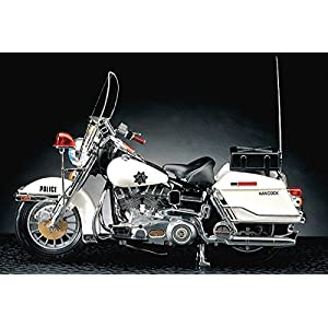 1/10 Academy Harley Davidson Police Model Kits Motorcycle Modeling of Famous Motorcycle in the 7,80's