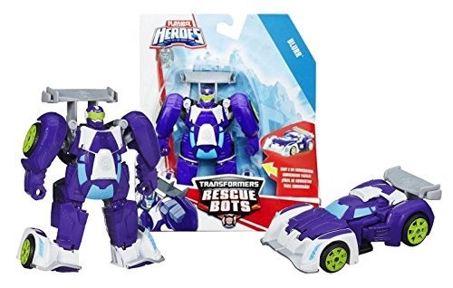 Playskool Transformers Rescue Bots - BLURR - Transformers from Robot to Race Car