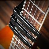 Guitar Capo , Famecame Black Guitar Capo with 10 Guitar Picks for Acoustic Guitar , Electric Guitar , Ukulele