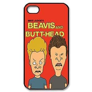 Classic Cartoon Beavis and Butt-Head Do America iPhone 4/4S Case Hard Protective Back Case